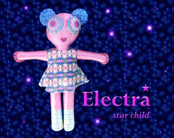 Electra Star Child Plush Doll