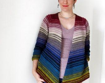 Irisa Cardigan PDF Knitting Pattern