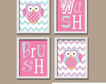owl bathroom art girl owl bath wall art canvas or prints owl theme