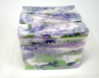 Lavender Chamomile Soap - Shea Butter and Olive Oil, Garden Soap, Handmade Soap, Hostess Gift, Chamomile soap, Lavender Soap, Glycerin Soap
