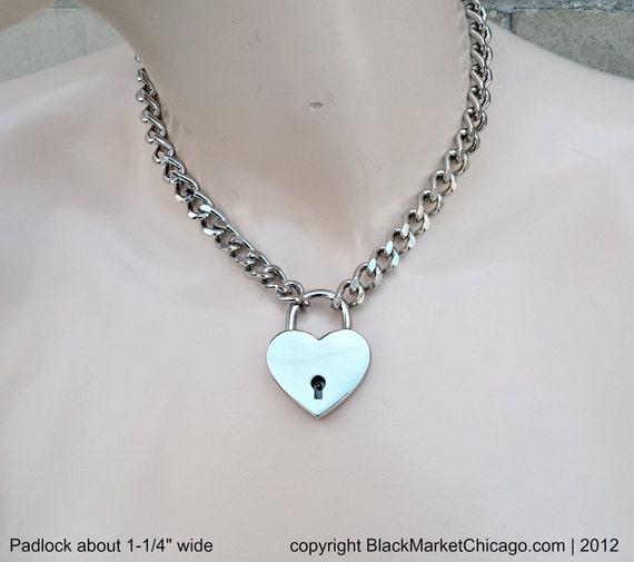 mail Bdsm collar chain