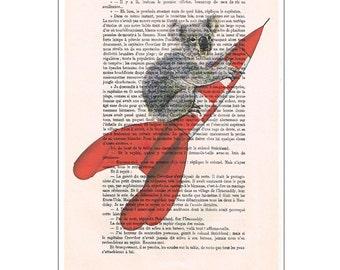 Koala digital print, Nursery art prints,art prints,kids decor, dream big,love print, art print,baby bedroom: koala bear on rocket