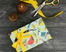 Birds Wrapping Paper, 2 Sheets