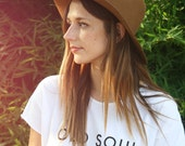 SALE, XL, Old Soul, Graphic Tee, Statement Tees, Hipster Shirt, Hipster Tee, Old Soul T shirt