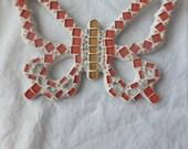 Original BUTTERFLY Glass Mosaic Wall Art