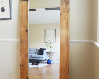 Reclaimed Wood Mirror (Full Length)