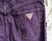 Vintage 1980s Guess Jeans by Georges Marciano