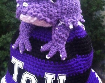 TCU (Texas Christian University) Horned Toad Spirit Hat