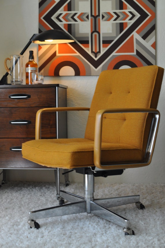 Reserved Vintage Shaw Walker Rolling Executive Office Swivel