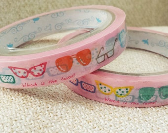 Funky Spectacles & Shades - Deco Sticky Tape