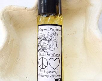 Organic Homemade Perfume All Natural Perfume Roll On Perfume Into The Woods