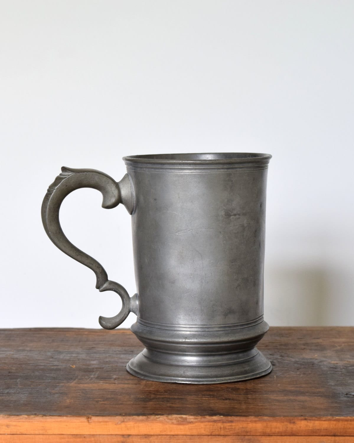 Drinking Beer Out Of Pewter