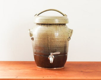 Made To Order Two Gallon Kombucha Fermentation Crock In