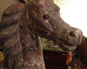 Dare carousel horse - 1890's-ish