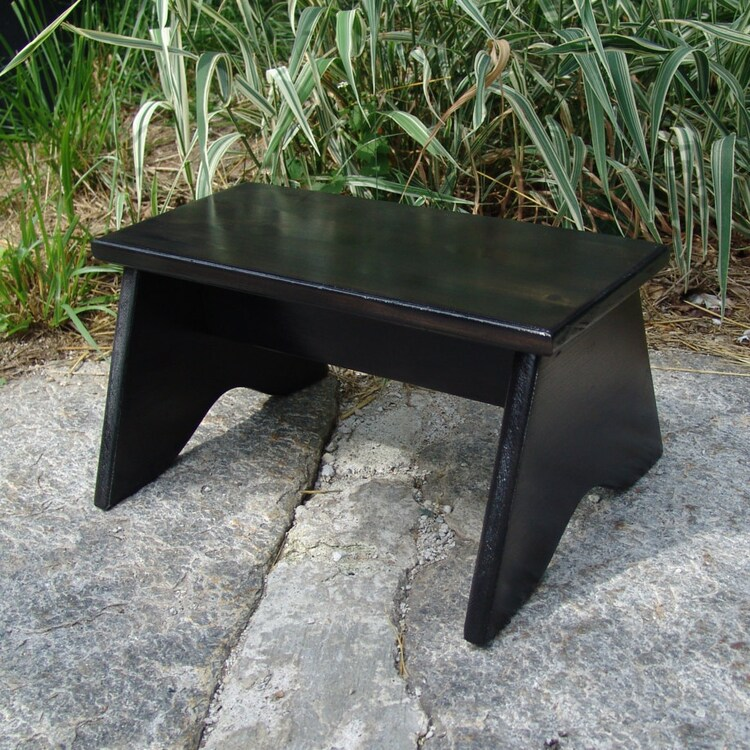 Handcrafted Heavy Duty Step Stool Compact By