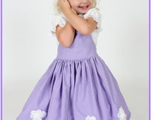 Boutique custom handmade pageant baby girls Sophia The First Princess twirl dress, Sophia the First costume