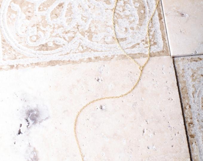 Deep Cuts Hematite Necklace