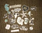 Cali Coast Sticker Pack