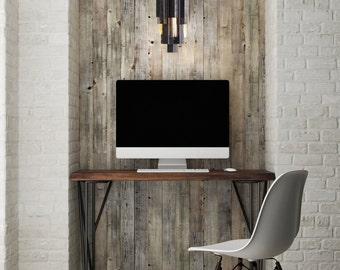 Boho Chic Pendant Light - Boho Chic Decor - Industrial Metal Pendant Light Fixture with Edison Bulbs