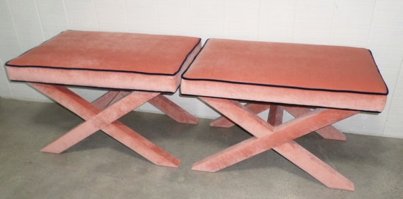 X Benches - Extra WIDE - Design Your Own to Suit Your Space