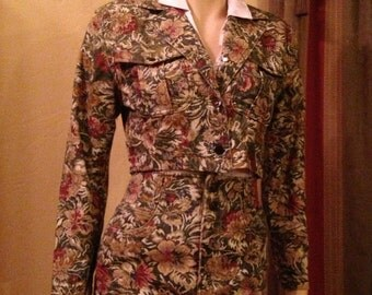 Great Tapestry Jacket and Skirt Set by Paris Blues