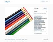NETFLIX set of 9 pencils - VOLUME I - Orange Is The New Black - OITNB - House of Cards - Unbreakable Kimmy Schmidt