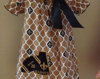 Saints Football  time is almost here, every girl should cheer the Saints to SUPERBOWL in her cute little dress!