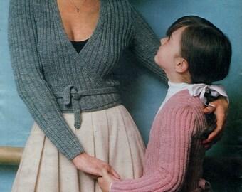 Knitting Pattern Childs Ballet Cardigan : Ballet cardigan Etsy
