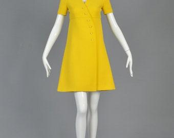 Mod dress soft wool 60s women dress winter Made to order under request custom made