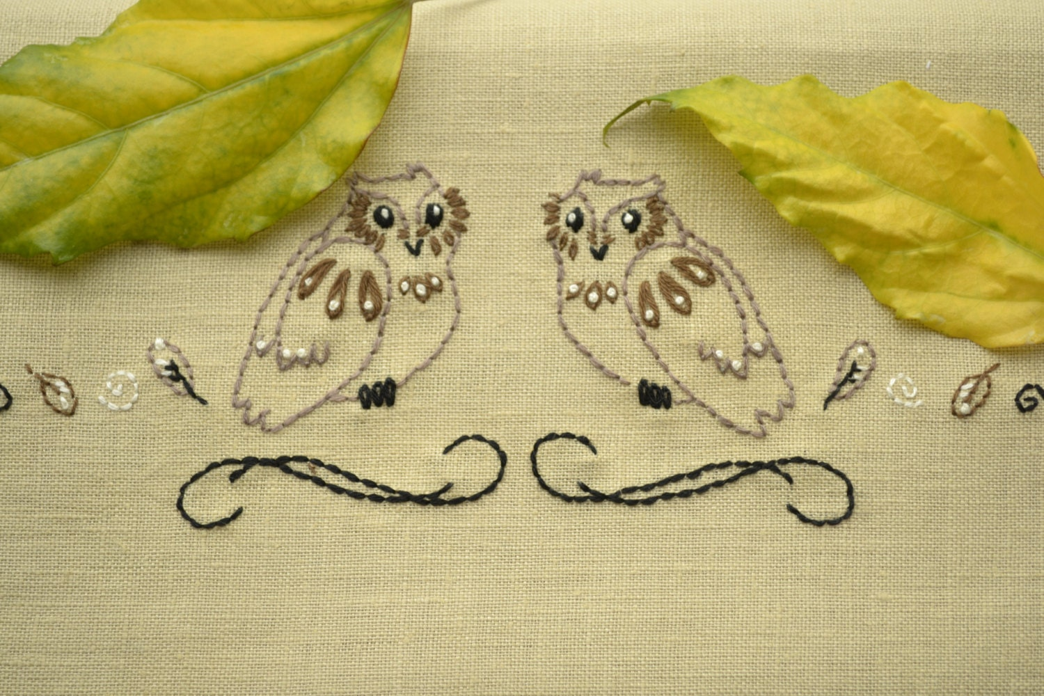 Hand embroidery patterns embroidery towels owl embroidery zoom bankloansurffo Image collections