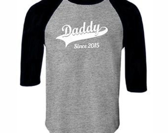 Daddy Papa Baseball Tee,T-Shirt  Mens Husband Dad Boyfriend Birthday Valentine's Father's Day Personalized Gift Ideas Oversized Cotton Shirt