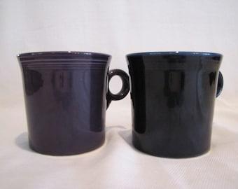 Fiesta Mugs One Blue One Purple