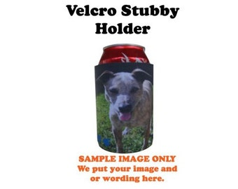 Custom Stubby Holder, Personalized / Customized Holder,Stubby Holder, Beer, Beverage Insulator, Beer Holder with your full colour image.