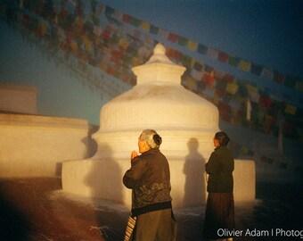 Bodhnath stupa, Nepal, 2007
