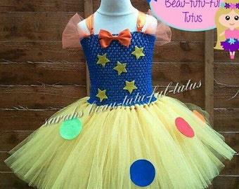 Clown/tumble tutu dress