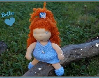FREE SHIPPING! Waldorf doll, waldorf inspired doll, steiner doll, doll waldorf,OOAK doll, cloth doll, fabric doll, cuddle doll, handmade