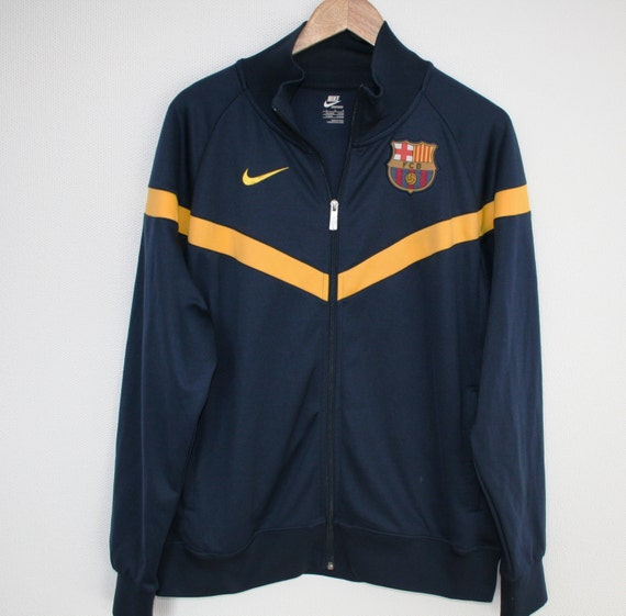 exclusive vintage nike fc barcelona eugene track jacket. Black Bedroom Furniture Sets. Home Design Ideas