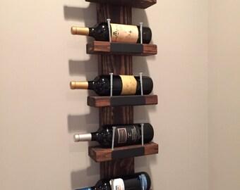 Rustic Chalkboard Wine Rack! Valentine's Day/Housewarming/Wedding