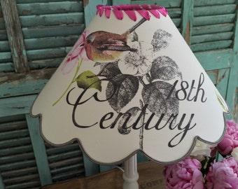 """Vintage Style """"18th Century"""" SHABBYCHIC LAMPSHADE"""