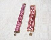 """Bracelet with Latvian folkloric design """"Krupitis""""  / latvian design / gift / favor bag / jewelery"""