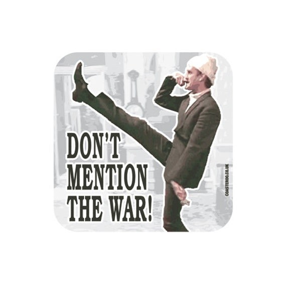 Fawlty Towers Drinks Coaster Don T Mention The