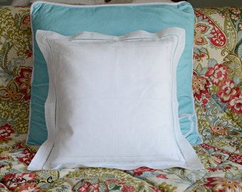 Linen Hemstitch Pillow