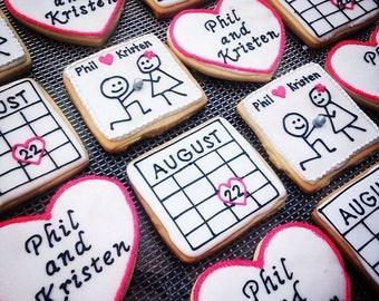 Wedding / Engagement Favor Cookies