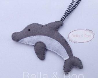 Felt Dolphin Hanging Decoration