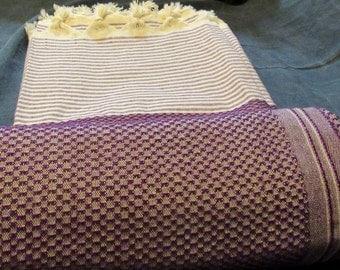 Brown Thick Turkish Bath Towel