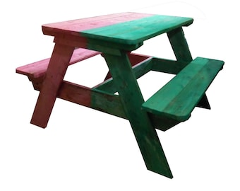 "Bicolor child table ""Picnic Junior"" (4-10 years)"