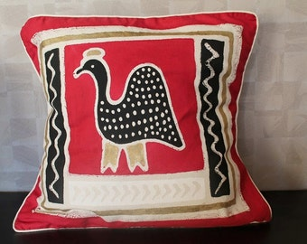 African printed cushion covers