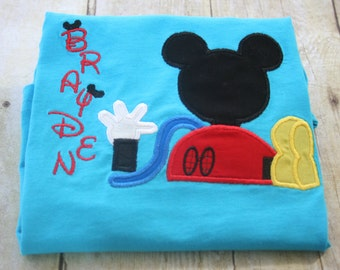Personalized Mouse Clubhouse Shirt