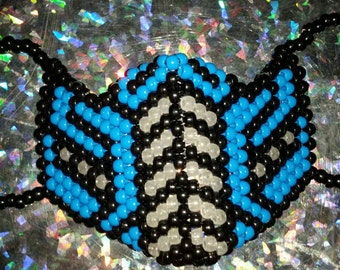 Customizable Mortal Kombat Sub Zero Kandi Rave Mask