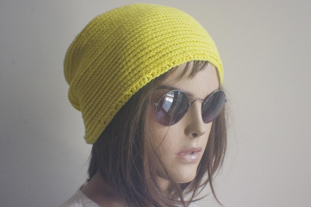 Cancer Hat-Hand Crochet Line Chemotherapy Hair Loss by aysconcept